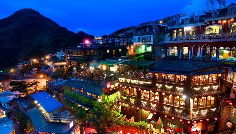 Làng cổ Jiufen vùng đất cổ tích của Đài Loan