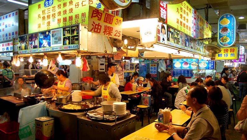 Du Lịch Đài Loan thưởng thức đặc sản vỉa hè