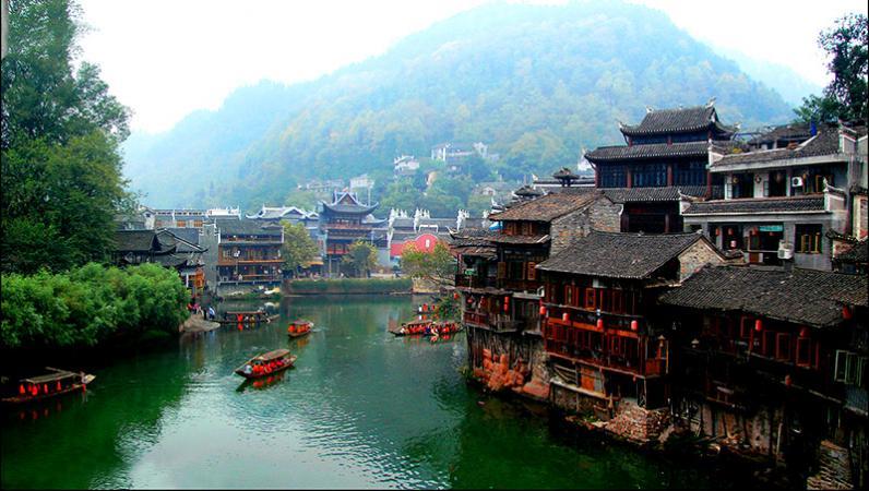Trung Quốc Phượng Hoàng cổ trấn ngàn năm