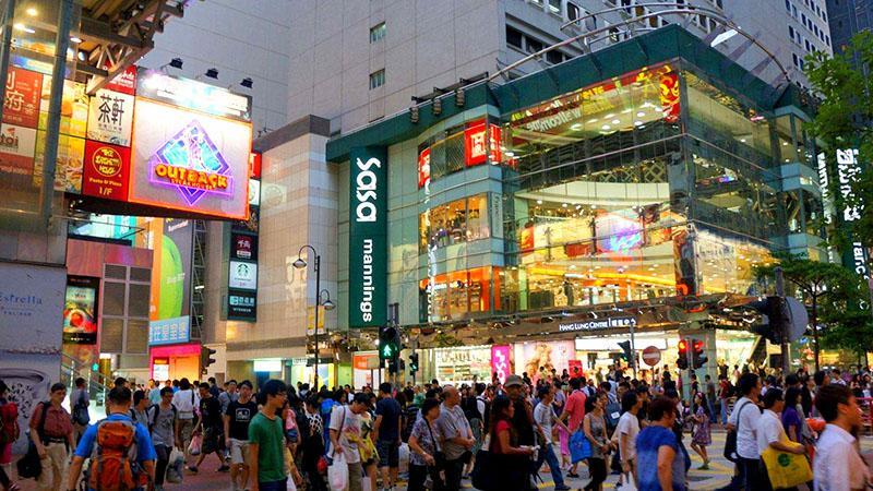 Điểm tự do Mua Sắm thỏa thích Tại Hồng Kông